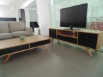CHARGER TV STAND